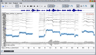 Tony: a tool for melody transcription - Sound Software  ac uk