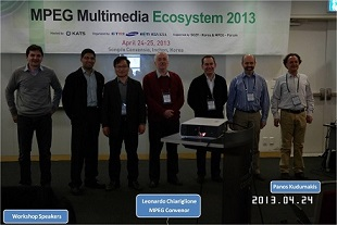 Invited talk on MPEG-M by Panos Kudumakis, Incheon, Rep. of Korea, 24 April 2013